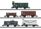 Trix 15534 K.W.St.E. Güterwagen-Set Ep.1