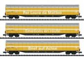 Trix 15874 Großraum-Schiebewandwagen-Set 3-tlg Ep.6