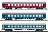 Trix 15996 DR CFR MAV Personenwagen-Set 3-tlg Ep.4