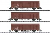Trix 18901 DBAG gedeckte Güterwagen-Set 3-tlg Ep.5