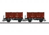 Trix 24177 DB Kohlekübeltragwagen Ep.4
