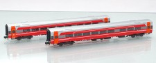 ASM 188690 NSB Personenwagen-Set 2-tlg. Ep.6