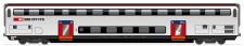 HAG 61028 SBB Doppelstockwagen 2.Kl Ep.6 AC