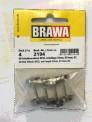 Brawa 2194 H0 Radsatz RP25 DC 23mm (4St)
