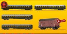 Brawa 45920 DB Eilzugwagen-Set 5-tlg Ep.3