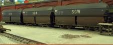 Brawa 47032 SNCF Selbstentladewagen-Set 3-tlg Ep.3