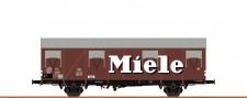 Brawa 47285 DB Miele gedeckter Güterwagen Ep.3