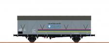Brawa 47286 DR Lacufa gedeckter Güterwagen Ep.4