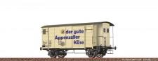 Brawa 47884 SBB Appenzeller ged.Güterwagen Ep.4