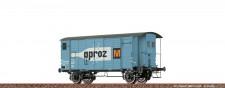 Brawa 47885 SBB Aproz gedeckter Güterwagen Ep.4