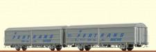 Brawa 48980 ÖBB Schiebewandwagen-Set 2-tlg Ep.4
