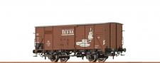 Brawa 49755 DB Tefal gedeckter Güterwagen Ep.3