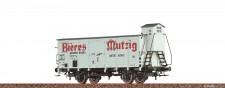 Brawa 49848 SNCF Mutzig gedeckter Güterwagen Ep.3