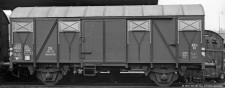 Brawa 50100 DB gedeckter Güterwagen Ep.3