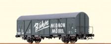 Brawa 67806 DB Bähre gedeckter Güterwagen Ep.3