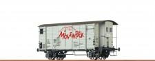 Brawa 67858 SBB gedeckter Güterwagen 2-achs Ep.3