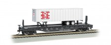 Bachmann USA 16707 NH Flachwagen 52ft