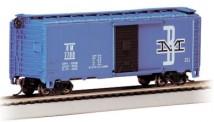 Bachmann USA 17048 B&M gedeckter Güterwagen  40ft