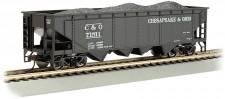 Bachmann USA 17605 C&O Quad Hopper 40ft