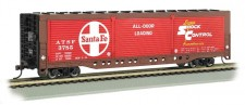 Bachmann USA 18140 AT&SF gedeckter Güterwagen 4-achs Ep.4