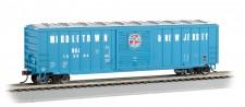 Bachmann USA 19603 MNJ gedeckter Güterwagen 50ft