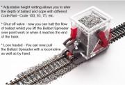 PROSES PBS-H0-02 Schotterverteilungswagen Baugröße H0/00