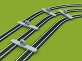 PROSES PPT-H0-02 Parallelgleislehre Baugröße H0/00