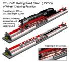PROSES PRR-H0-01 Rollenprüfstand 500 mm Spur H0/00