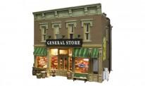 Woodland WBR5841 Lubener's General Store