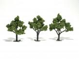 Woodland WTR1509 Laubbäume hellgrün 5-12 cm, 3 St.