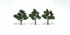Woodland WTR1510 Laubbäume mittelgrün 5-12 cm, 3 St.