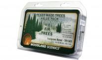 """Woodland WTR1585 Evergreen-Bäume 2-4"""", 18 St."""