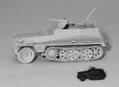 Trident 90246G Halbkettenfahrzeug SdKfz 250/1 WH grau