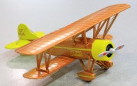 Model Power MP6404 Bi-Wing US.Mail Brown/Yellow