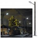 Busch 10800 Lampe mit Holzmast