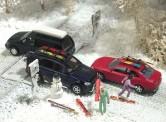 Busch 6004 Winter-Set für PKW