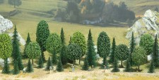 Busch 6590 Mischwald, 35 Bäume