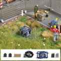 Busch 7800 A-Set:Notstromaggregat H0