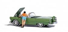 Busch 7826 A-Set: Motorshow H0