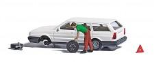 Busch 7827 A-Set: Reifenpanne H0