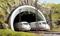 Busch 8195 ICE-Tunnelportal, zweigleisig