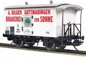 MTH 122940010 Bilger Brauerei Kühlwagen 2-achs Ep.2/3