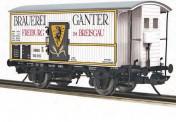 MTH 122940020 Brauerei Ganter Kühlwagen 2-achs Ep.2/3