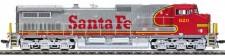 MTH 180023021 AT&SF Diesellok Dash 9-44CW Ep.5/6