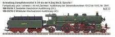 MTH 180032165 KBayStB Dampflok S 3/6 Ep.1 AC