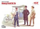 Glow2B 24003 ICM: Figuren Henry Ford Co.