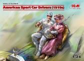Glow2B 24014 American Sport Car Drivers um 1910