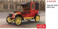 Glow2B 24030 ICM: Type AG 1910 Paris Taxi