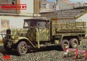 Glow2B 35466 Henschel 33D1 WWII Germ. Army Truck