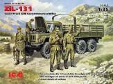 Glow2B 35516 ZiL 131 - sowjetischer Lkw m.Figuren